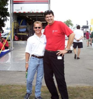 Johnny Herbert is 5 foot nothing...:-)