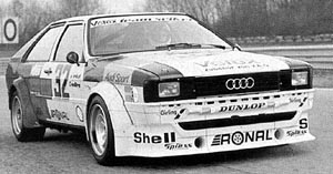 Peter Seikel in european touring car championship 1981